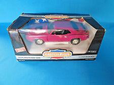 AMERICAN MUSCLE DIE CAST CAR 1970 PLYMOUTH 426 HEMI CUDA 1:18 SCALE NIB MOPAR