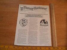 Disney Newsreel WED MAPO Employees magazine 1980 Television past and present
