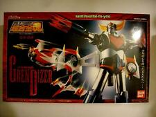 NIB Bandai GX-04 Soul of Chogokin UFO Robo GRENDIZER Figure w/ Spazer Box Set