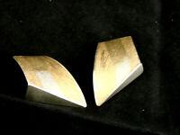 Silber mit Goldauflage Ohrstecker Silber 925 40 mm  Ohrringe Schmuck  apart chic