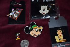 Mixed Lot of 5 Disney Pins MICKEY MOUSE DAISY DUCK LE