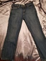 Levi Strauss Signature Misses Jeans Stretch Low Rise Boot Cut Blue Size 10 Short