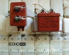 12x 2uF 300V MBGO Paper Capacitors Soviet PIO Audio USSR NEW #510a