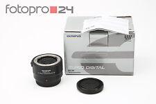 Olympus Zuiko Digital 2.0x teleconverter ec-20 + embalaje original + Top (215017)