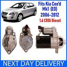 FITS KIA CEE'D CEED (ED) 2006-2012 1.6 CRDi TD DIESEL BRAND NEW STARTER MOTOR