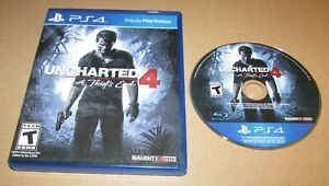 Uncharted 4: A Thief's End for Playstation 4 Fast Shipping