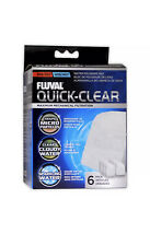FLUVAL QUICK CLEAR POLISHING PADS 6 PACK 304 305 306 307 404 405 406 407 A244