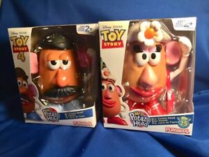 Mr. & Mrs. Potato Head TOYS from TOY STORY 4- BRAND NEW & SOON TO BE GONE