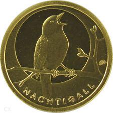 *** 20 EURO GOLD DEUTSCHLAND 2016 Mzz A Berlin - Nachtigall - Heimische Vögel **
