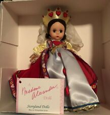 New Listing1995 Madame Alexander Queen Of Hearts #14511 Doll Alice In Wonderland Collection