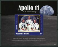 Marshall Islands 2019 MNH Apollo 11 Moon Landing Armstrong 1v S/S Space Stamps