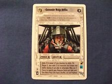 Star Wars CCG First Anthology Commander Wedge Antilles