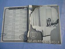 +LE JOURNAL DE SHEILA N°153 1980 SHEILA THE BLACK STALLION COPPOLA 12 PAGE