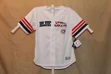 TORONTO BLUE JAYS embroidered logos MLB JERSEY  by True Fan   XL   NWT