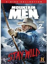 Mountain Men: Season 2 - 4 DISC SET (2014, REGION 1 DVD New)