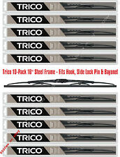 "10-Pack 16"" Steel Frame Wiper Blades Trico 30-160 x 10 (30-160WD Master Pack)"