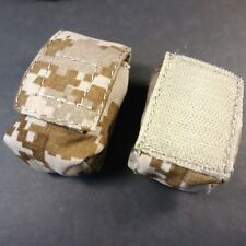 Two (2) Counterweight Pouch in AOR1 - Fits Surefire CR123 batteries or Zippo