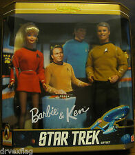 STAR TREK-BARBIE AND KEN-30TH ANNIVERSARY COLLECTOR EDITION-Gift Set-NIB NRFB
