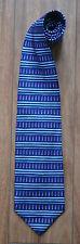 Men's Purple & Navy Woods & Gray Silk Tie.