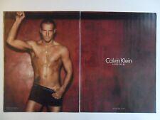 2005 Print Ad Calvin Klein Men's Briefs Underwear ~ Fredrik Ljungberg Sexy Guy