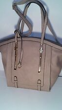 Diophy 1889 Large Casual Khaki Shoulder Handbag Purse