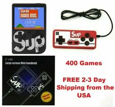 Retro Handheld Game Console - 400 in 1 Games TV Hookup 2 Player Game Boy Style