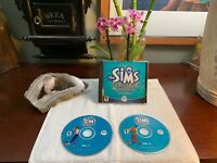 The Sims Unleashed Expansion Pack PC CD-ROM 2 Disc Video Game EA Games PRISTINE