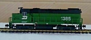 Atlas Trainman n scale: GP-15 Burlington Northern #1385 - DCC