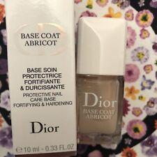 Christian Dior Crème Abricot Nail Base Coat 10ml New In Box