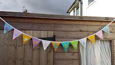 Happy Easter Felt Garland - Bunting - Banner - Handmade
