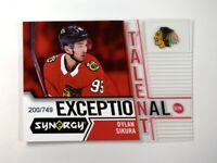 2018-19 18-19 UD Upper Deck Synergy Exceptional Talent #ET-14 Dylan Sikura /749
