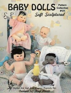 Sis Pi Soft Sculpture Dolls Pattern Collection by Pegasus Originals