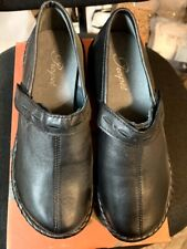 Propet BLACK Catalina Leather Slip-on Loafer Shoes SIZE 6 B(M) W0274/NEW