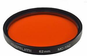 MARUMI Camera Filter MC-YA2 62mm For Monochrome Shooting 005104