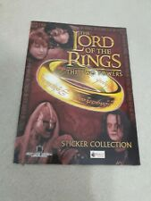 Merlin The Lord Of The Rings The Two Towers empty album vuoto leeralbum