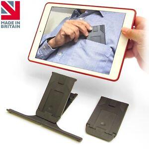 Universal Pocket Tablet Stand holds ALL iPads, Tablets, Kindles, smartphones etc