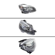 New MB2503185 Passenger Side Headlight for Mercedes-Benz C300 2008-2011