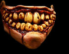 NEW Deluxe Flesh Grin Quarter Face Halloween Mask Horror Mouth Scary