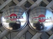 1946 46 PONTIAC CHIEFTAIN SAFARI STAR CHIEF HUBCAPS WHEEL COVERS CENTER CAPS