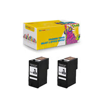 Compatible 2Pcs M4640 (Series 5) Black Ink Cartridge for Dell 922 924 942 944