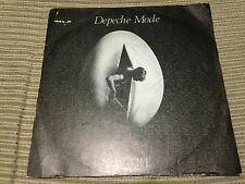 "DEPECHE MODE SPANISH 7"" SINGLE SPAIN WHITE LABEL RCA 81 NEW LIFE SYNTH POP"