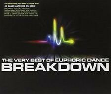 THE VERY BEST OF EUPHORIC DANCE BREAKDOWN – 3 CD BOX SET, SEALED BRAND NEW