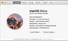 Apple Mac Mini 2.7 GHz Intel Core i7, 8GB Memory 1333 MHz DDR3, 500GB HD SSD