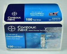 Bayer Contour Next Blood Glucose Test Strips 100-Count Exp 2020