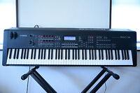 Yamaha MOX8 88-Key Graded Hammer Action Music Production Synthesizer Workstation