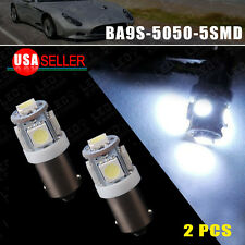 2PCS Cool White BA9S 5050 5-SMD T11 LED Dome/Map Interior light bulbs Q65B 64111
