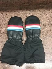 Vtg Warm Winter Snowmobile Mittens Size Men's One Size Fits All