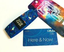 ZOX *HERE & NOW* GOLD Strap #00066 med Wristband w/Card New Mystery Pack COL 136