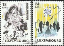 Luxembourg 1535-1536 (complete.issue.) unmounted mint / never hinged 2001 kosovo