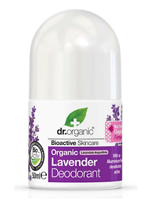 Dr. Organic bioactive organic natural deodorant roll on freshness + Lavender